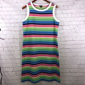 Talbots Multi- Stripe Dress